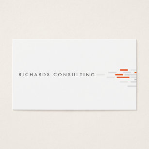 Startup business cards templates zazzle technical pattern in white gray orange business card colourmoves Choice Image