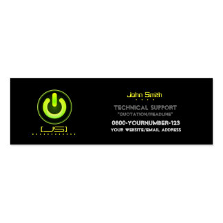 Technical Support/Electrical Repair Business Card