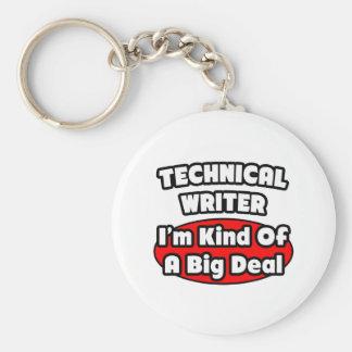 Technical Writer ... Big Deal Key Chain