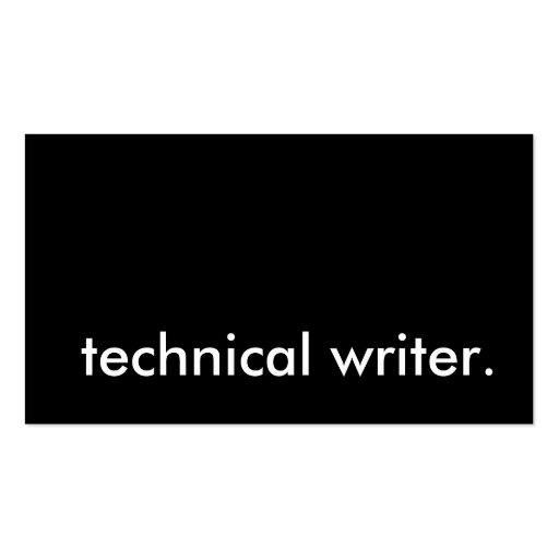 technical writing corporate environment No recruiter will accept a business writing sample as a proof of your technical writing skills, especially in the hi-tech sector where i've been working for over 10 years now business writing is all kinds of copy generated to administer, communicate with and control others in a work environment.