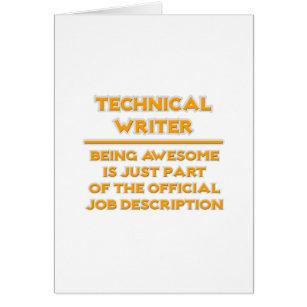 technical writer job description
