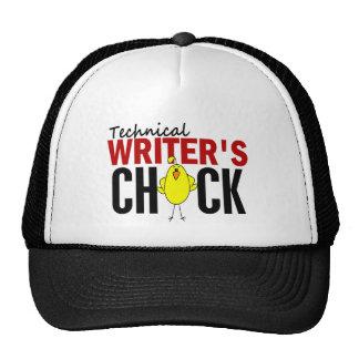 Technical Writer's Chick Trucker Hat