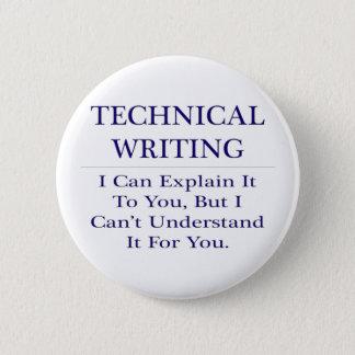 Technical Writing .. Explain Not Understand Pinback Button