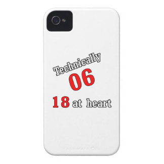 Technically 06, 18 at heart Case-Mate iPhone 4 case
