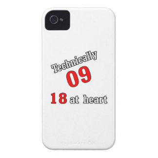 Technically 09, 18 at heart iPhone 4 cover
