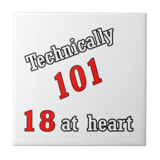 Technically 101, 18 at heart ceramic tile