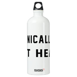 Technically 32, 18 at heart SIGG traveler 1.0L water bottle