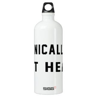 Technically 60, 49 at heart SIGG traveler 1.0L water bottle
