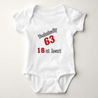 Technically 63, 18 at heart shirt