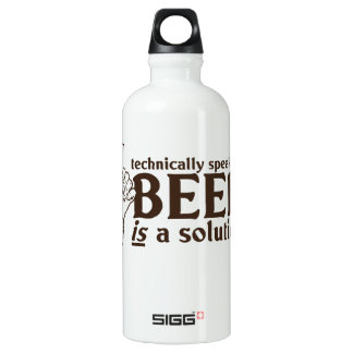 Technically Speaking, Beer is a solution SIGG Traveler 0.6L Water Bottle