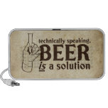 Technically Speaking, Beer is a solution Mp3 Speaker