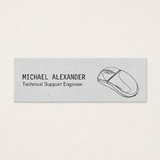 Technician | Computer Mouse Mini Business Card