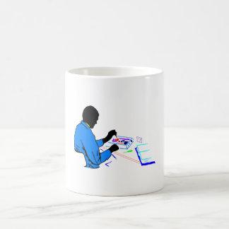 Technician 11 Oz Magic Heat Color-Changing Coffee Mug