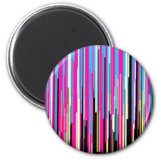 Technicolor 2 Inch Round Magnet