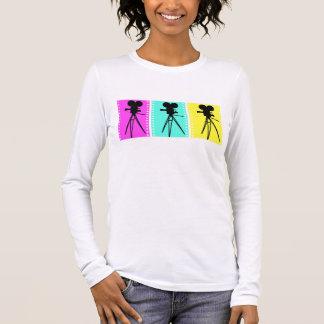 Technicolor Camera Design Long Sleeve Shirt