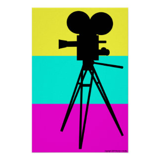 Technicolor Camera Poster