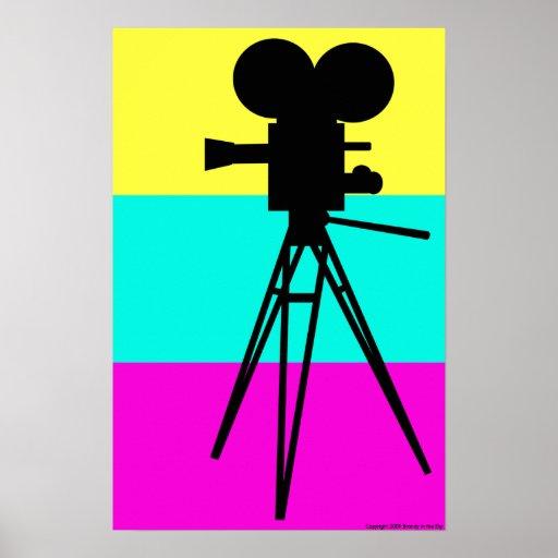 Technicolor Camera Poster