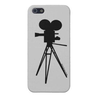 Technicolor Camera Silhouette i iPhone SE/5/5s Case