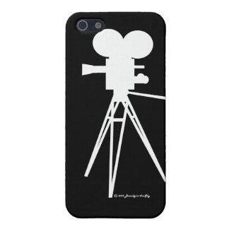 Technicolor Camera Silhouette iPhone Cover
