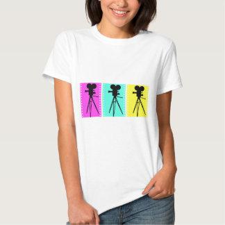 Technicolor Camera Womens T-shirt