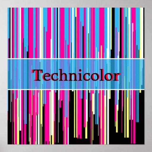 Technicolor Custom Design Print