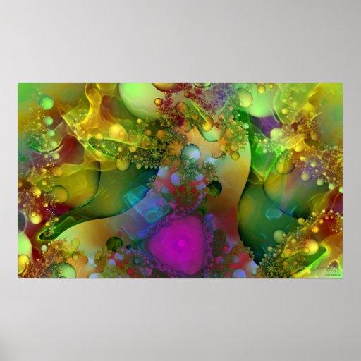 Technicolor Daydreams Poster