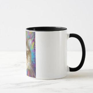 Technicolor Dream Cat Mug