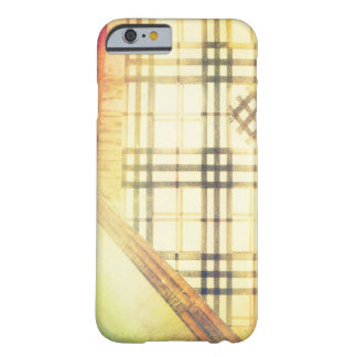 Technicolor Hipster Plaid Preppy Plaid Barely There iPhone 6 Case