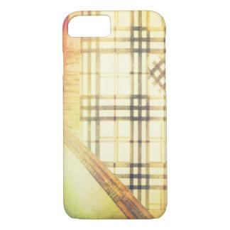 Technicolor Hipster Plaid Preppy Plaid iPhone 8/7 Case
