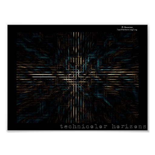 technicolor horizons print