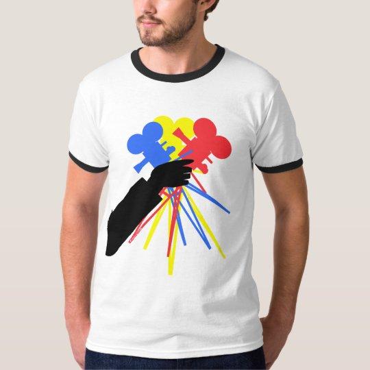 Technicolor Love Bouquet Primary Colors T-Shirt