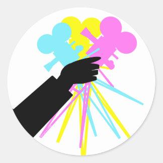 Technicolor Love Bouquet Stickers
