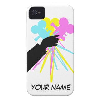 Technicolor Love Bouquet Vintage Movie Camera Case-Mate iPhone 4 Cases