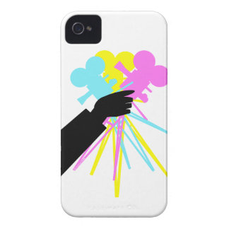 Technicolor Love Bouquet Vintage Movie Camera iPhone 4 Covers