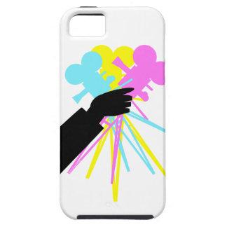 Technicolor Love Bouquet Vintage Movie Camera iPhone SE/5/5s Case