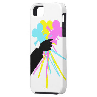 Technicolor Love Bouquet Whimsical iPhone Cover