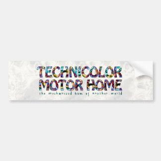 Technicolor Motor Home Logo Bumper Sticker
