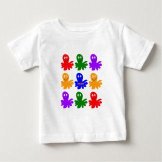 Technicolor Octopus Baby T-Shirt