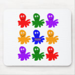 Technicolor Octopus Mouse Pad