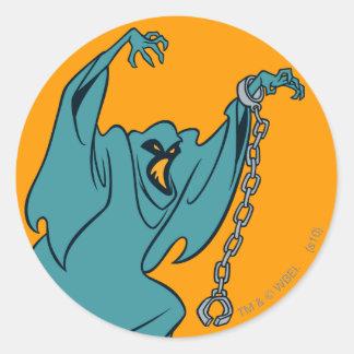 Technicolor Phantom Villains 01 Classic Round Sticker