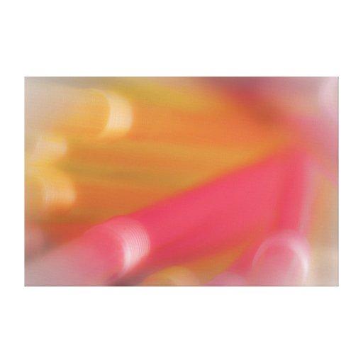 Technicolor Pipe Dream Gallery Wrap Canvas