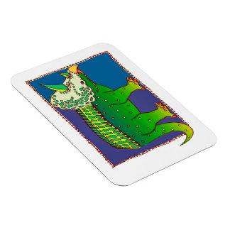 Technicolor Stegasaurus Magnet