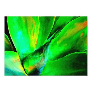 Technicolor Succulent Card