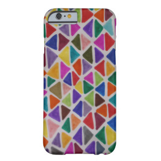 Technicolor Triangles Barely There iPhone 6 Case