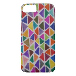 Technicolor Triangles iPhone 8/7 Case