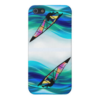 Technicolor Windsurfer in a Typhoon iPhone SE/5/5s Cover