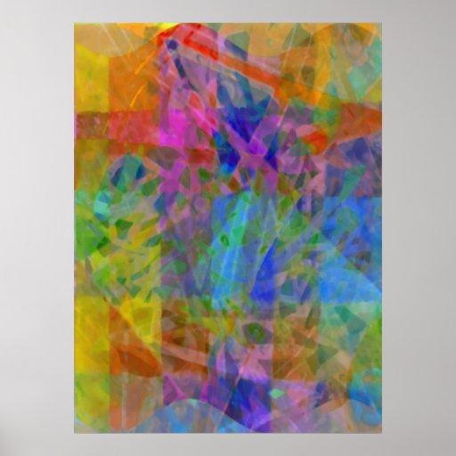 Technicolor Wonder Print