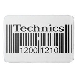 Technics 1200 Art Custom Rug / bath mat