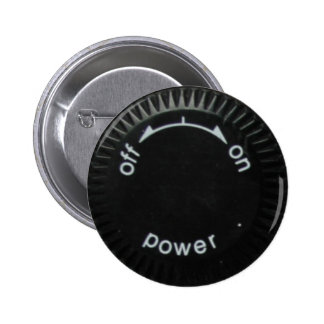 technics 1200 power pinback button