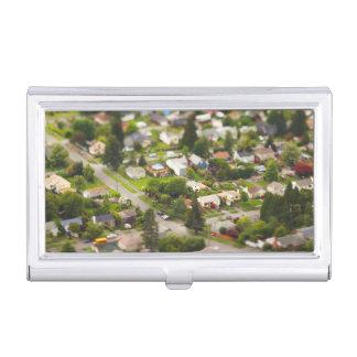 Technique #1- tilt/shift lenses business card case